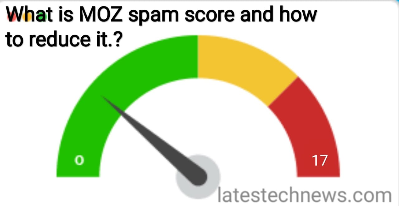 What is MOZ spam score and how to reduce it?