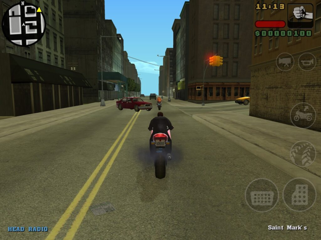 GTA 3d touch in iphone